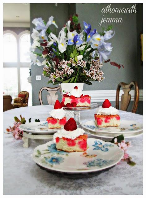 Strawberry Poke Cate