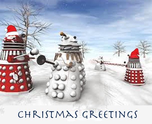 Doctor Who Christmas Cards.Christmas Cards To You All Gagajoyjoy