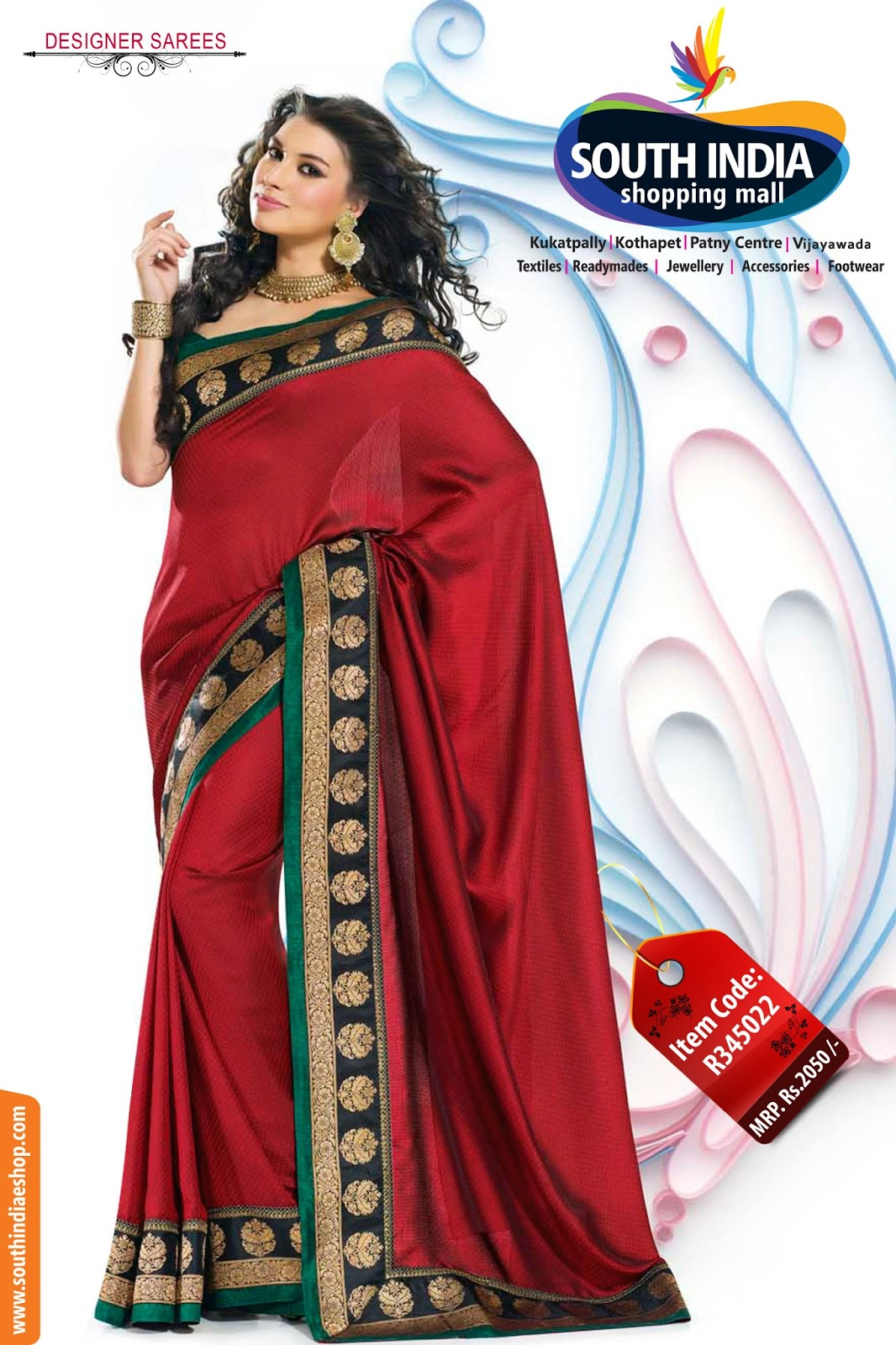 South India Shopping Mall Latest Designer Sarees -2670