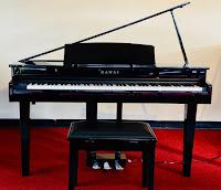 Kawai DG30 digital mini grand piano with bench