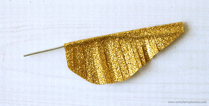 Snitch wing fringed