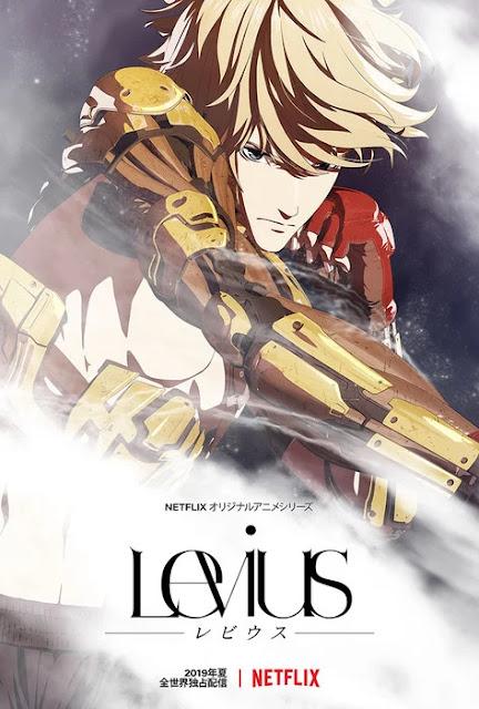 """""""Levius"""" de Haruhisa Nakata."""