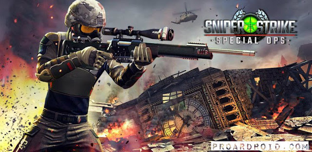 لعبة Sniper Strike – FPS 3D Shooting v4.301 كاملة للأندرويد (اخر اصدار) logo