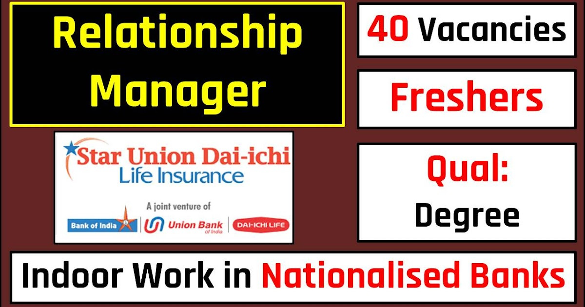 relationship managers  work in nationalised banks