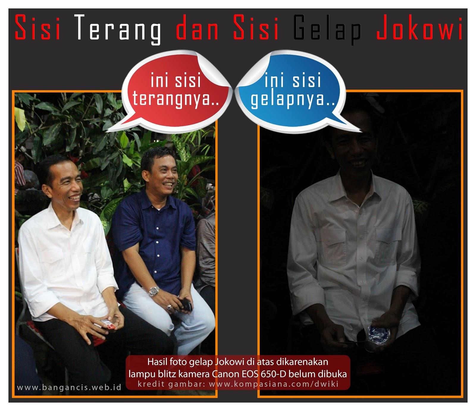 Sisi Terang dan sisi Gelap Jokowi