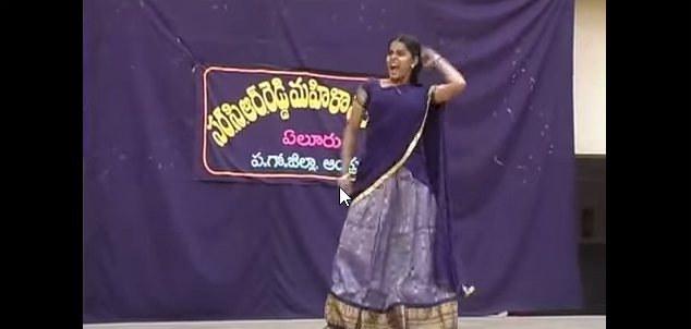 Shocking Dance By College Girl In Andhra Style