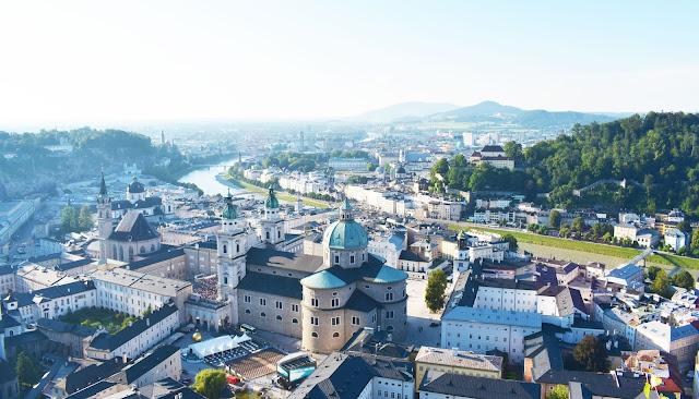 Vistas de Salzburg, Austria