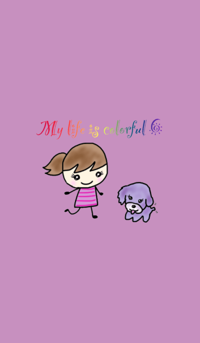 My life is colorful 6