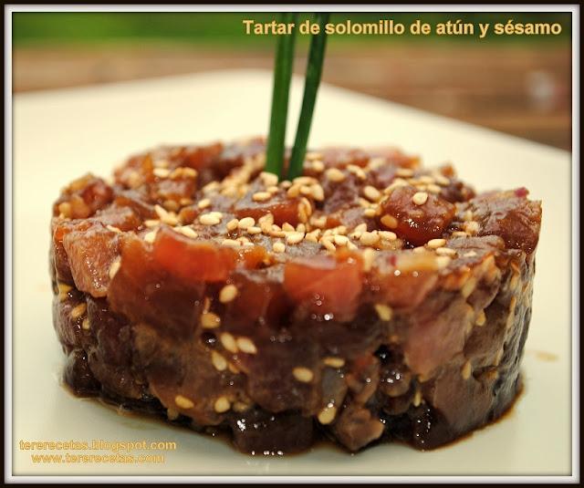 tartar de solomillo de atún con salsa de soja y sésamo 02