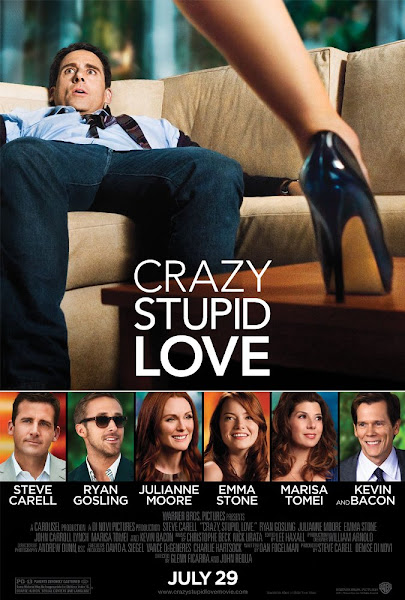 Poster of Crazy Stupid Love 2011 Hindi 720p BRRip Dual Audio Full Movie Download