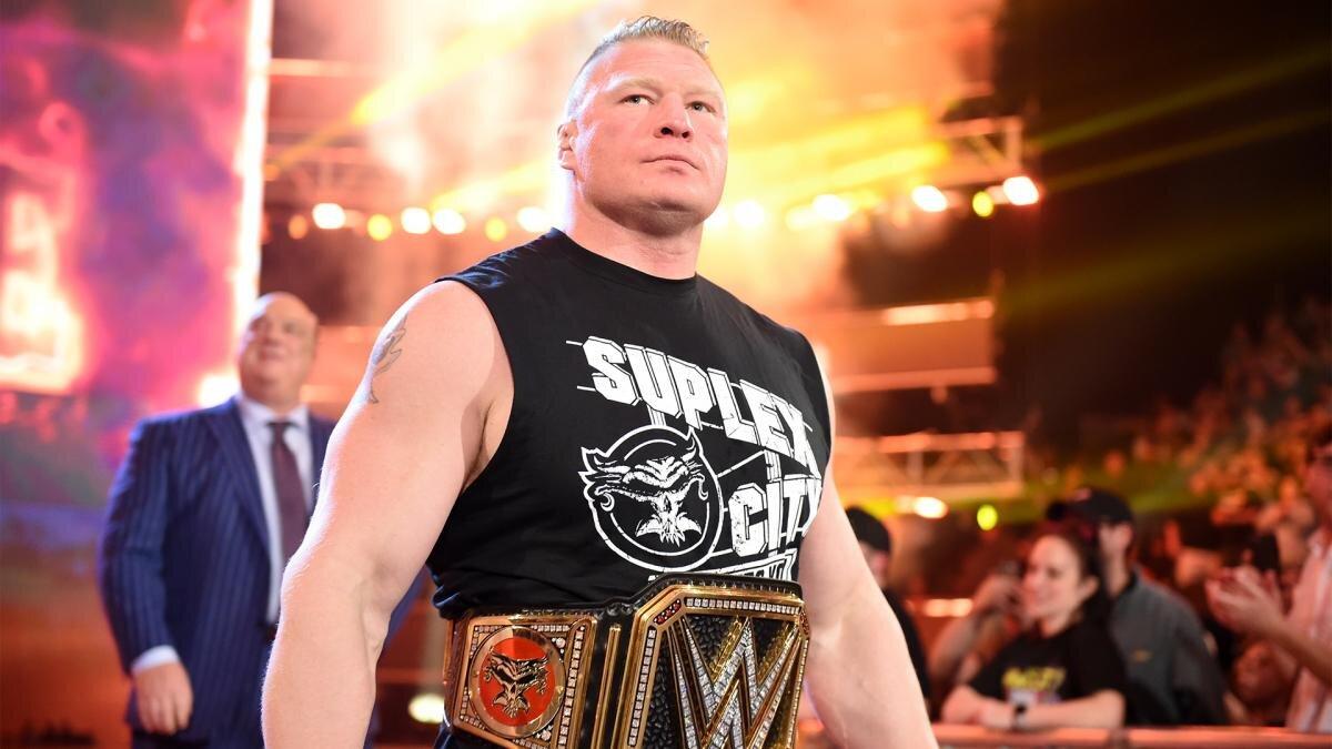 Brock Lesnar assinou novo contrato com a WWE