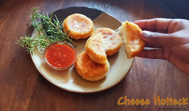 images of Potato Cheese Pancake / Cheese Hotteck / Hotteok / Korean Stuffed Cheese Pancake
