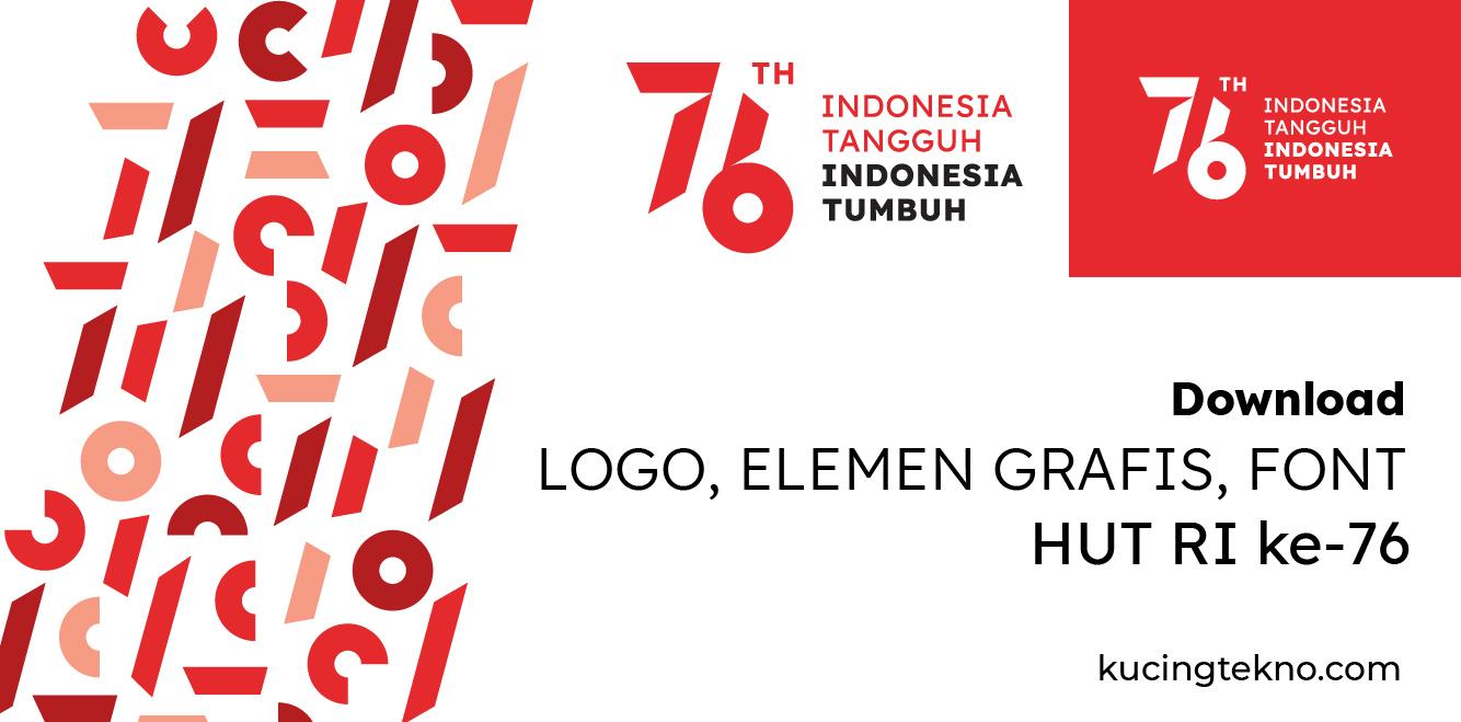 Download Logo HUT RI 76 Resmi Terbaru dan Lengkap Panduannya