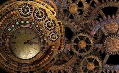 Steam punk clockwork