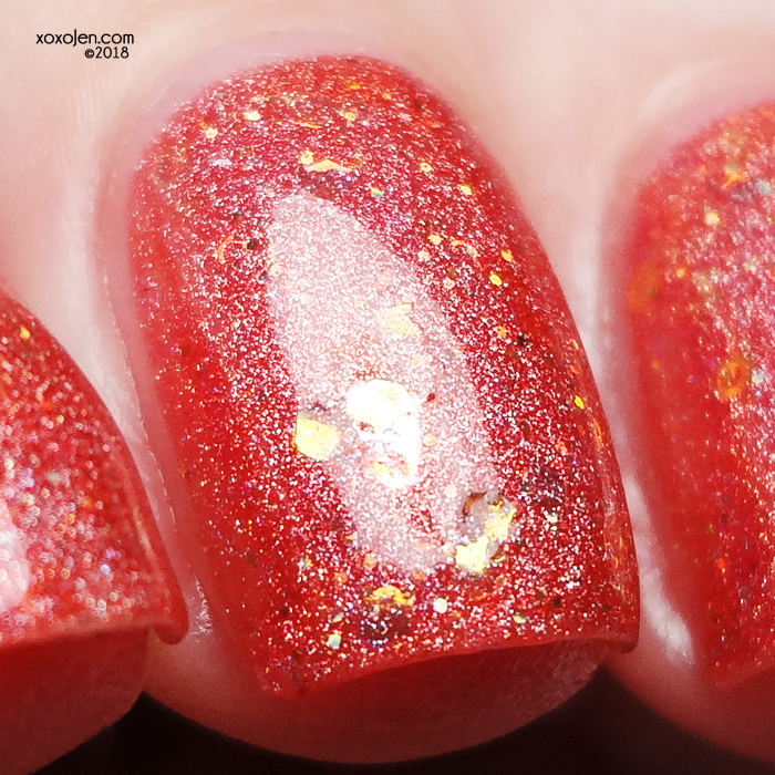xoxoJen's swatch of Blush Lacquers Pink, Plunk, Plink