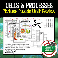 LIFE SCIENCE Test Prep, LIFE SCIENCE Test Review, LIFE SCIENCE Study Guide, Cells