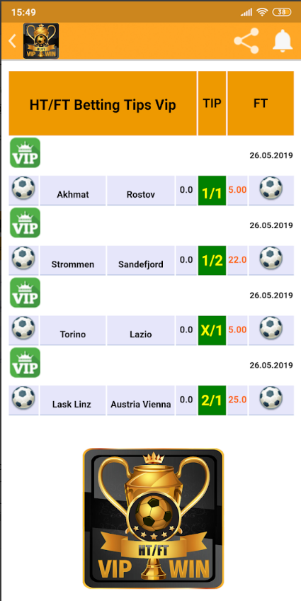 Ht ft betting predictions today fixed odds sports betting review sites