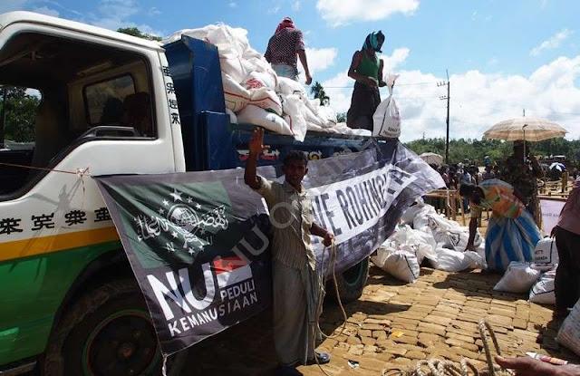 Lagi dan Lagi, NU Bagikan 700 Paket Bantuan untuk Rohingya di Balukhali Bangladesh