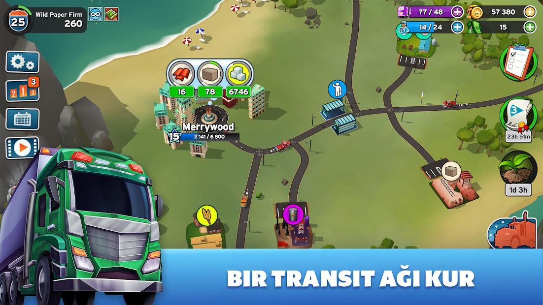 Transit King Tycoon Hileli APK - Sınırsız Para Hileli APK