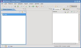 Aplikasi Teks Editor Eclipse
