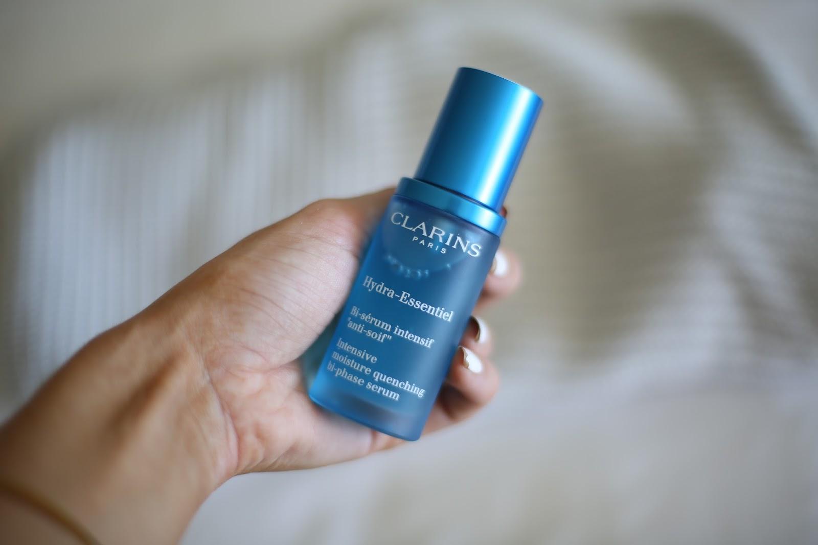 clarins hydra-essentiel serum
