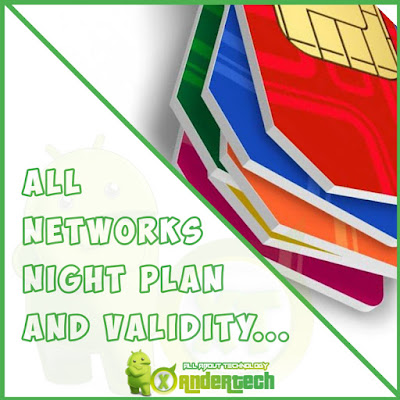 All Network Night Plan Cheat codes For Nigeria 2021