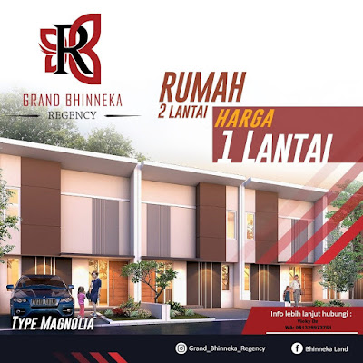Grand Bhinneka Regency Type Komersil 2 Lantai (Magnolia) 38/60