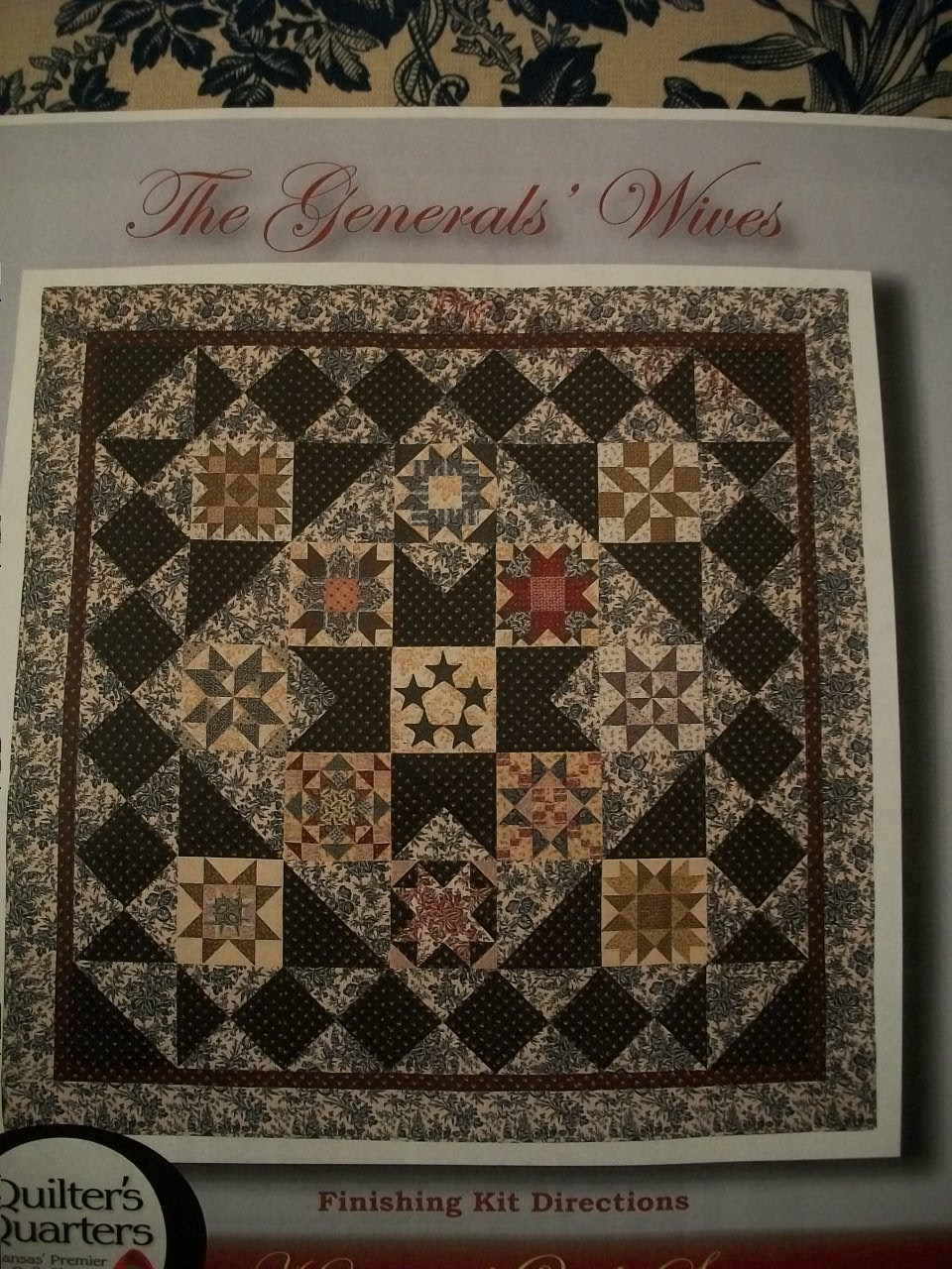 Scraps And Quilts Blogspot Com Generals Wives Block Of