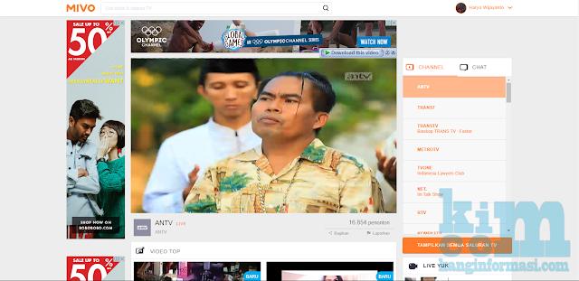 2 Situs untuk Menonton TV Online Terbaik - Kanginformasi.com