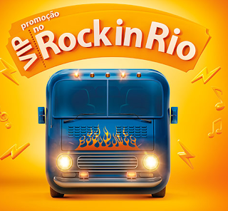 """Promoção """"Vip No Rock In Rio"""""""