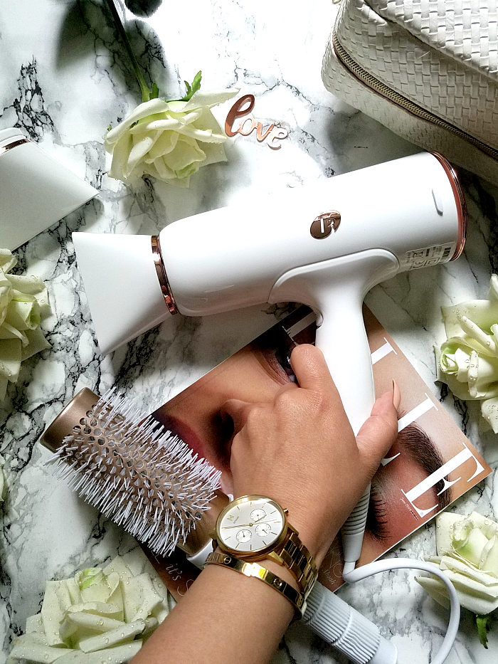 T3 Micro - Cura Hair Dryer & Volume 2.5 Round Brush review erfahrungen testbericht