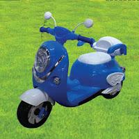 kiddo mo2 scooter motor mainan anak aki