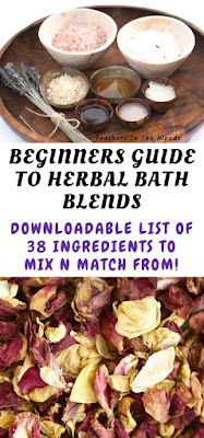 beginners guide to bath blends (38 ingredient list!)