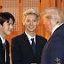 Interaksi Sehun EXO dengan Donald Trump, Saling Senyum dan Berjabat Tangan