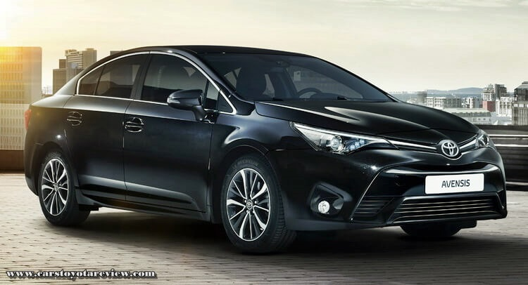 New Toyota Avensis Review