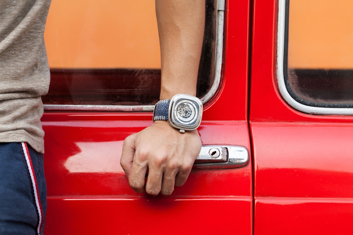 sevenfriday strap, stingray sevenfriday strap