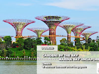 Wisata ke Gardens By The Bay, Marina Bay Singapore Cek Lokasi dan Harga Tiket