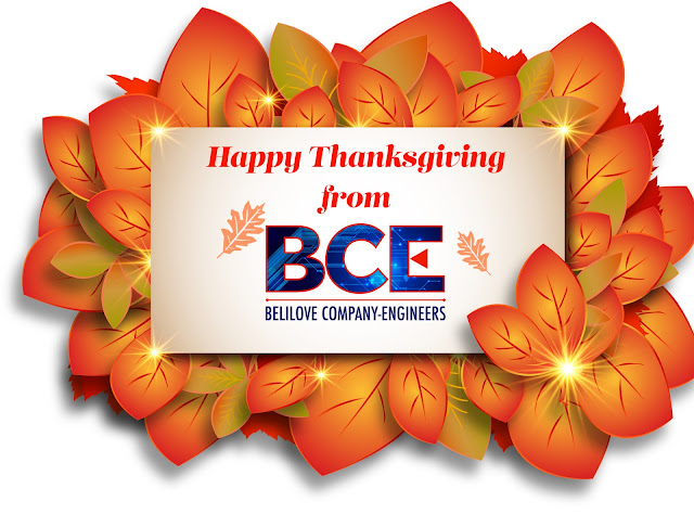 Happy Thanksgiving from BCE