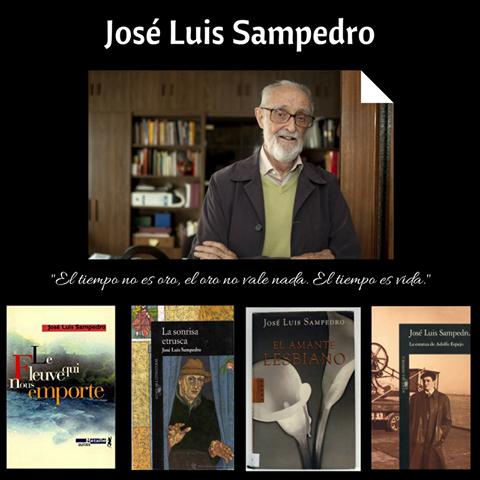 Hoy homenajeamos a José Luis Sampedro, en el centenario de su nacimiento.