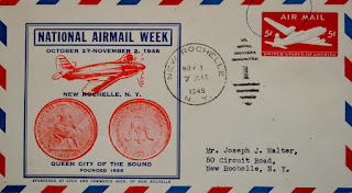 National Airmail Week / Commemorative Envelope / 1946