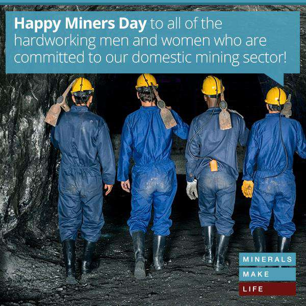 National Miners Day Wishes Photos