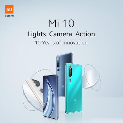 HP Xiaomi Mi 10 8GB/256GB