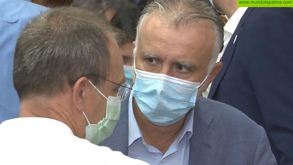 Torres anuncia que la oficina única de atención al afectado por la erupción de La Palma contará con 14 trabajadores sociales