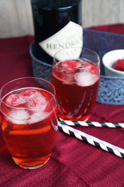 Drink Pink Empire mit Gin