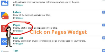 Add Statistic Pages to your Blogger