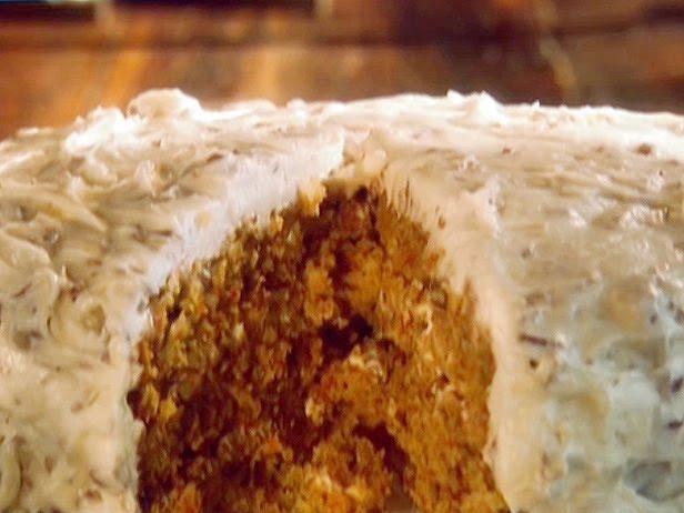 Paula Deen Homemade Carrot Cake Recipe