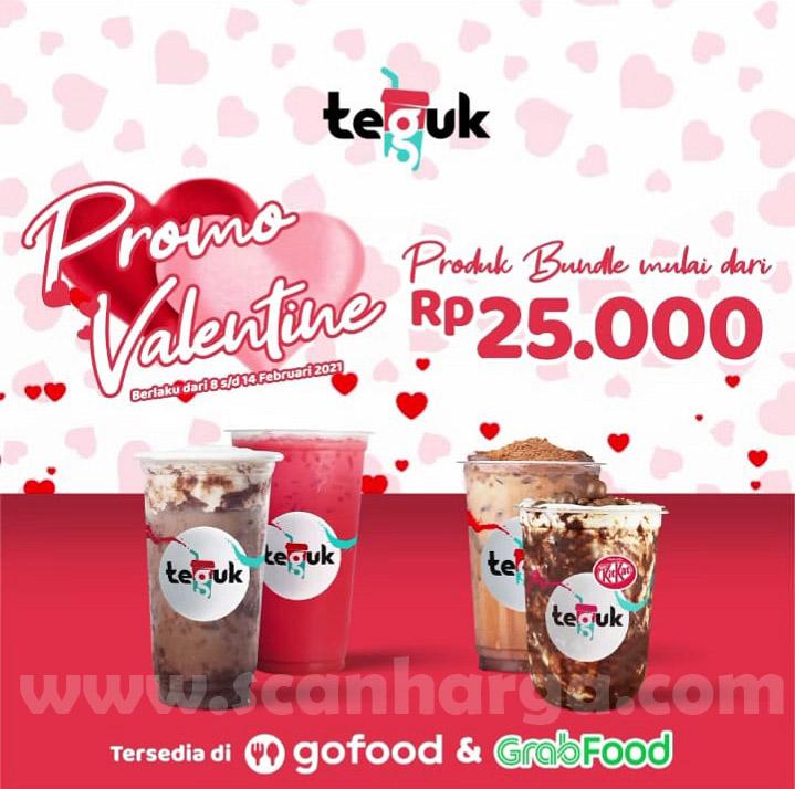 TEGUK Promo Produk Bundle VALENTINE! Harga Mulai Dari Rp 25.000