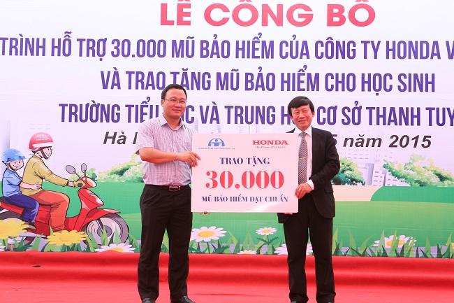 Honda Việt Nam tổng kết hoạt động LXAT năm 2015