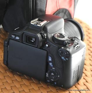 Jual Kamera DSLR Canon  600D  Bekas Banyuwangi