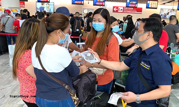 BDO Remit, the remittance service brand of BDO Unibank, OFWs, OWWA, Covid-19, Covid-19 pandemic, new normal, hygiene kits, health kits, face masks, Macau International Airport, BDO remit gives, Philippines, remittances